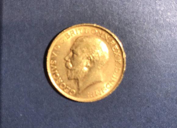 1 Pfund Gold Sovereign Georg V