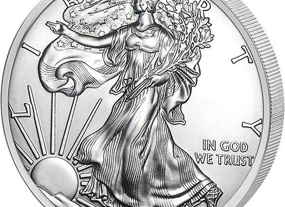 1 Unze American Silver Eagle 2020