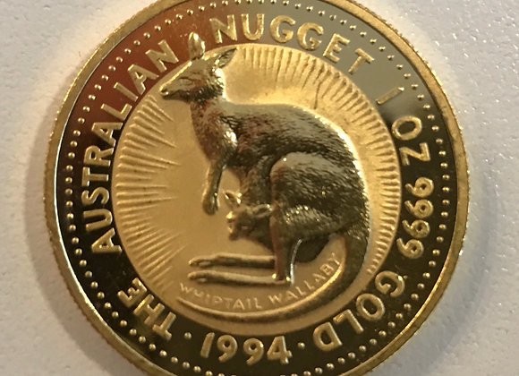 Kangaroo 1 Uz Gold