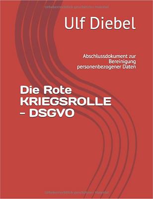 Die rote Kriegsrolle - DSGVO