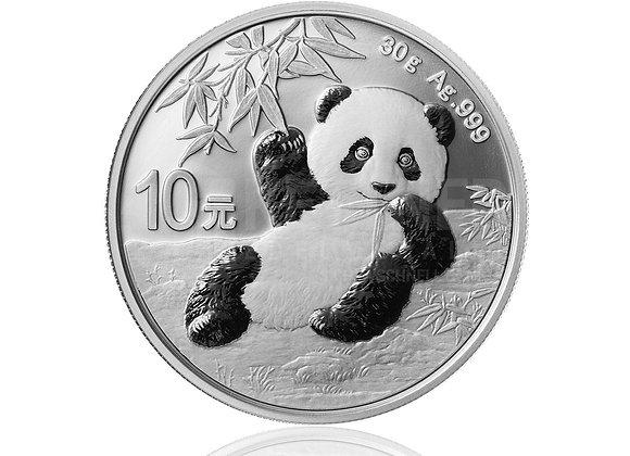 Silber Panda 2020 30 g
