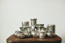 SILVER MERCURY GLASS