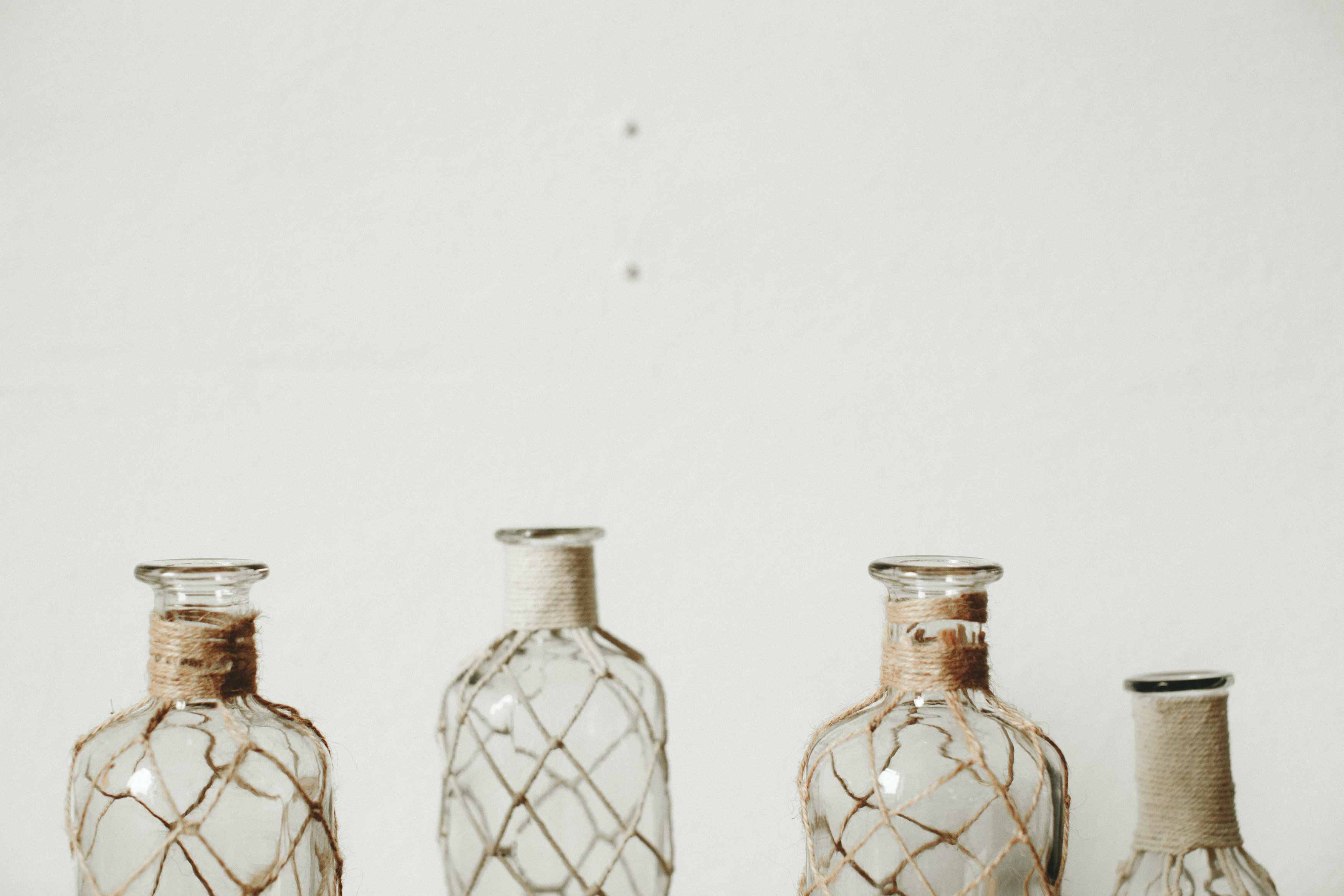 ANTHRO GLASS BOTTLES