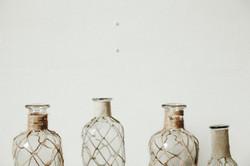 ANTHRO GLASS BOTTLES