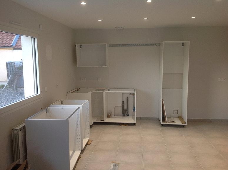 installation cuisine ikea vaulnavey. Black Bedroom Furniture Sets. Home Design Ideas