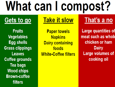 To compost or not to compost...