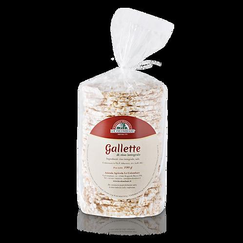 Gallette riso integrale - Le Colombare