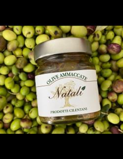 olive-ammaccate-cilentane-sapore in tavo