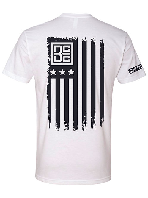 BCC Flag Tee (White)