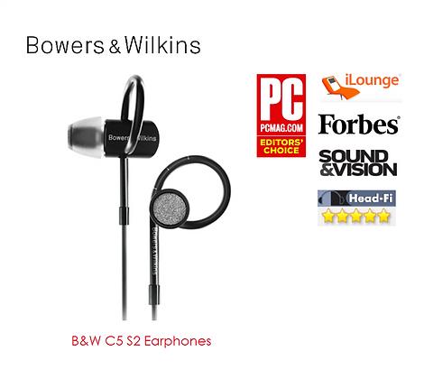 B&W C5 S2 Earphones
