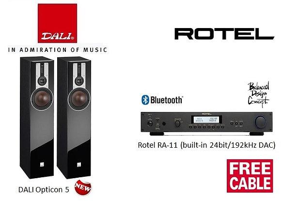 Package 16: DALI Opticon 5 + Rotel RA-11