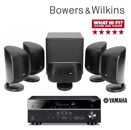 B&W MT-50 + Yamaha RX-V585