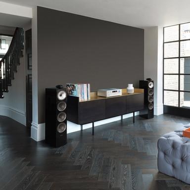 B&W 702 S2 Gloss Black