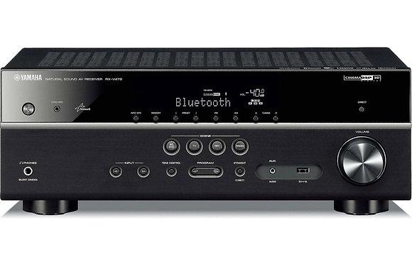 Yamaha RX-V485 AV Receiver (Black)