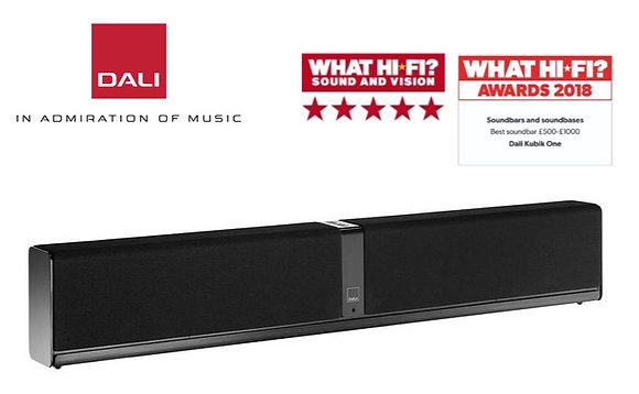 DALI Kubik One Soundbar (Black)