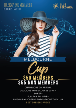 Melbourne Cup A4 Poster
