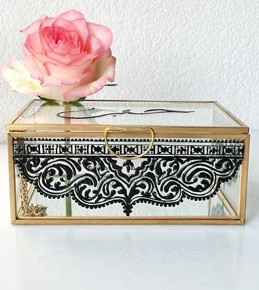 Boîte à bijoux d'exception arabesque