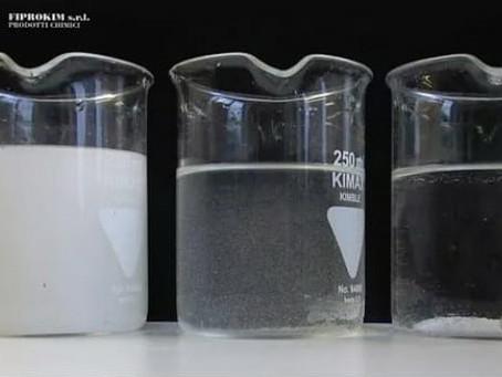 Trattamento acque per la lavorazione marmo