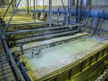 Sgrassaggio e mordenzatura dell'alluminio: Metalfip 317