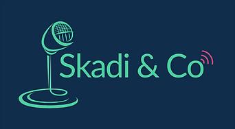logo du studio de création sonore Skadio & Co spécialiste de la création de podcast