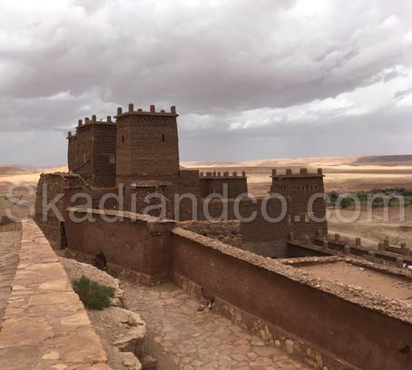 Voyage   Se balader dans le ksar d'Aït-Ben-Haddou, classé au patrimoine mondial de l'UNESCO   Maroc