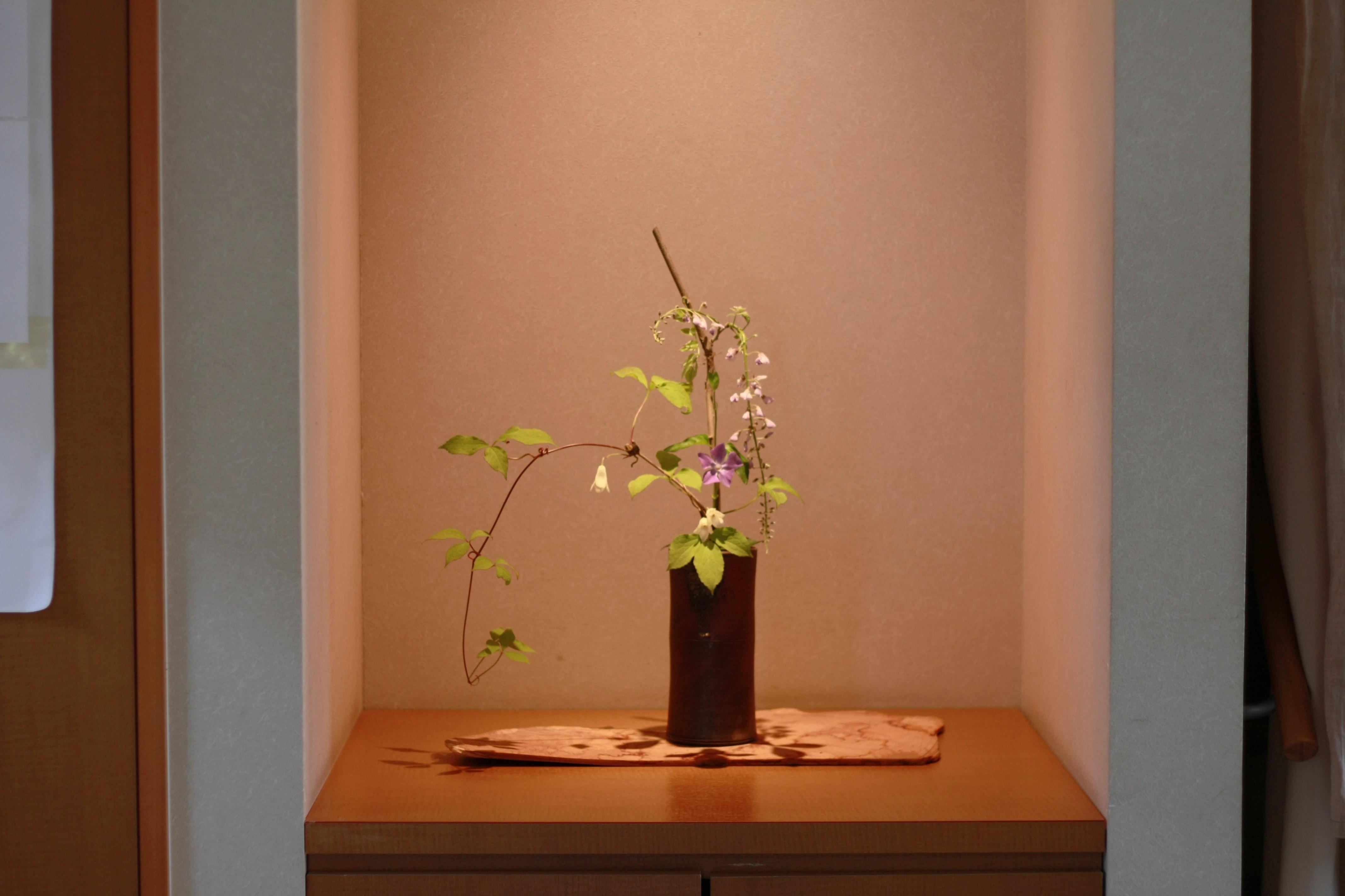店内には季節のお花