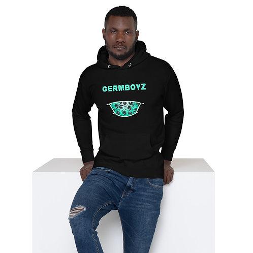 Black GERMBOYZ Premium Unisex Hoodie