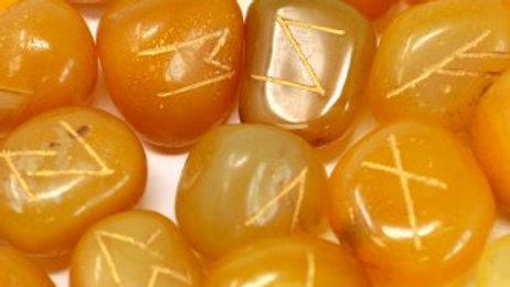 Rune Set - Yellow Onyx