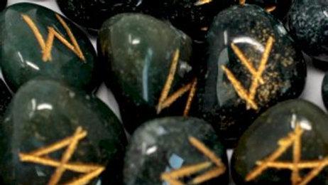 Rune Set - Bloodstone