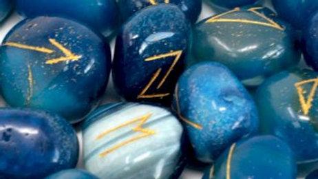 Rune Set - Blue Onyx