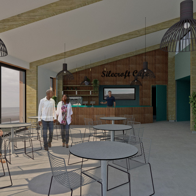 Passivhaus Beach Cafe