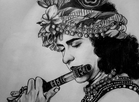 Lord Krishna's Beauty