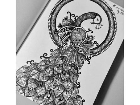 Mandala Peacock Design