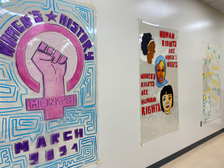 Boys & Girls Club Featured in Women's History Month Display
