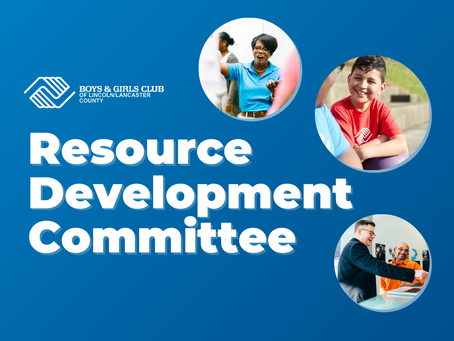 Join Our Resource Development Committee!