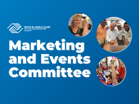 Join our Marketing and Events Committee!