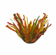 Orange Coral Bowl