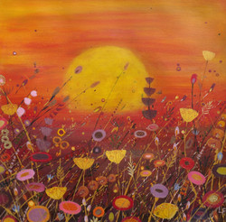 SOLD Red Sky & Fennel