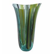 Medium Turquoise Drop Vase