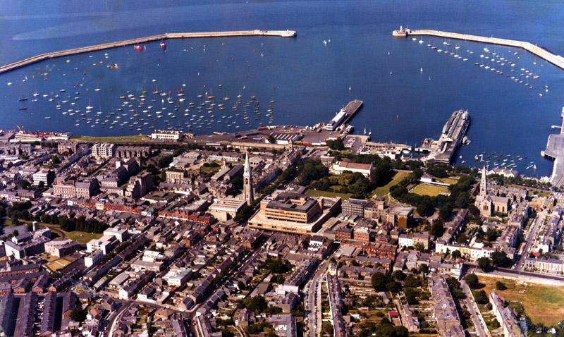 Dun Laoghaire Harbour - 1978