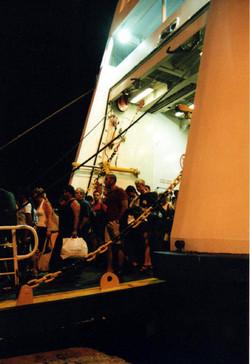 Disembarkation at Piraeus