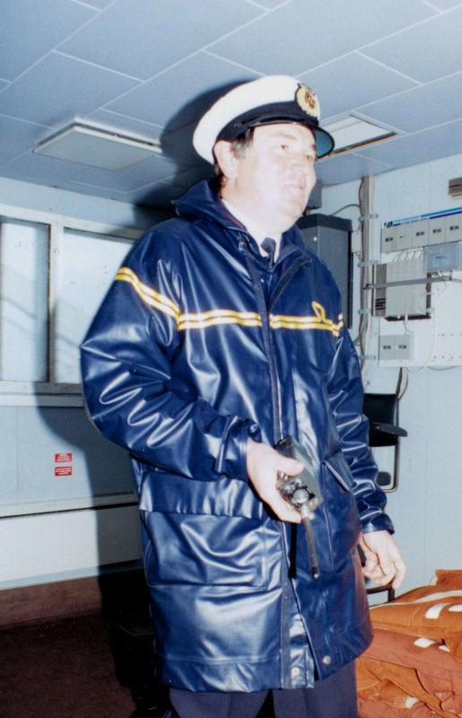 Captain Ken Jones