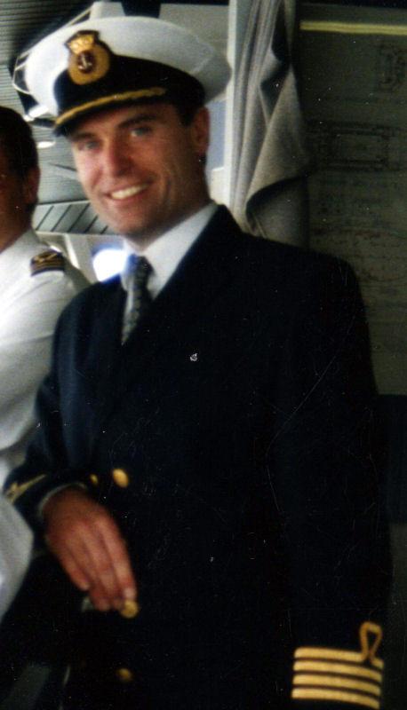 Captain Tudor Roberts
