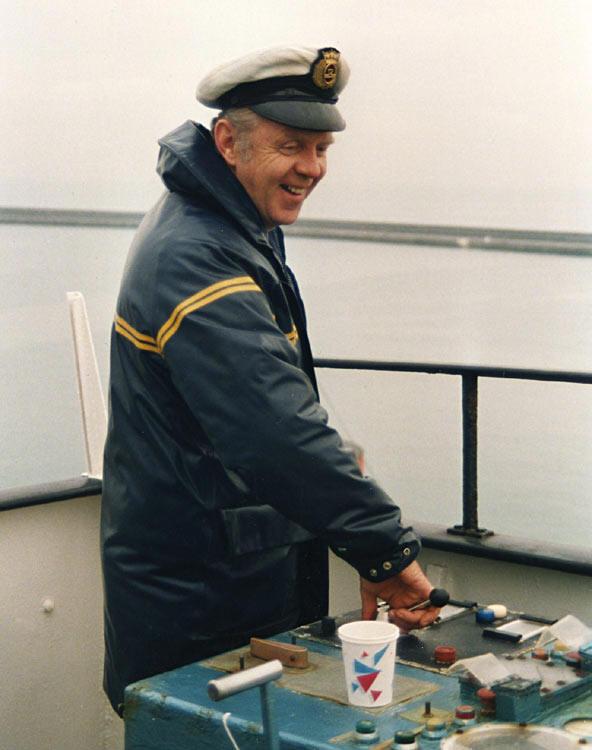 Captain Dyfed Ellis