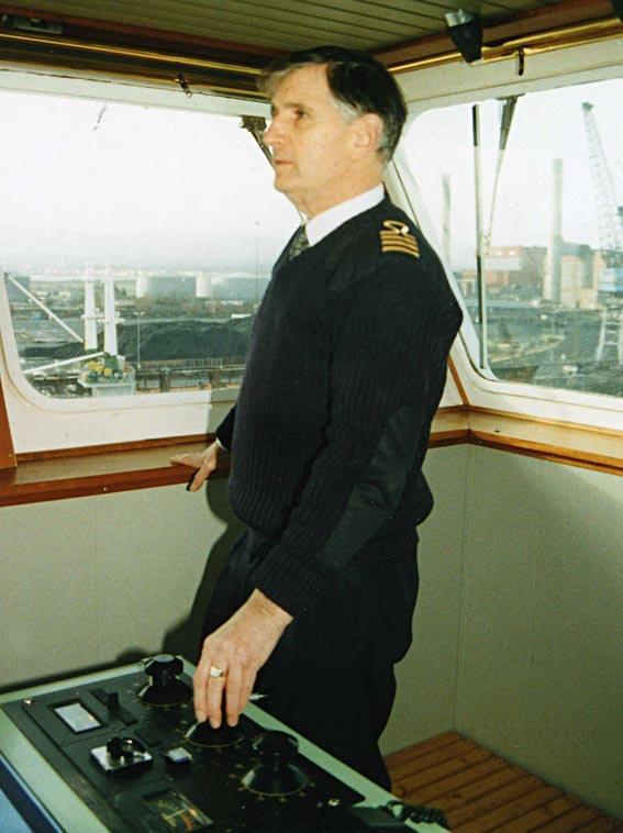 Captain Iorwerth Roberts