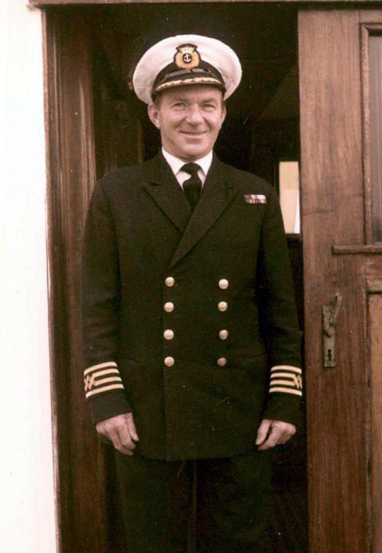 Capt Idwal Pritchard