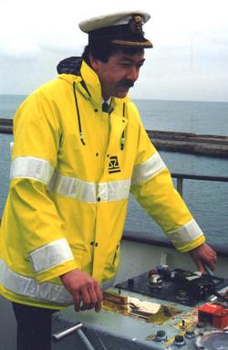 Captain Nigel Ribeiro