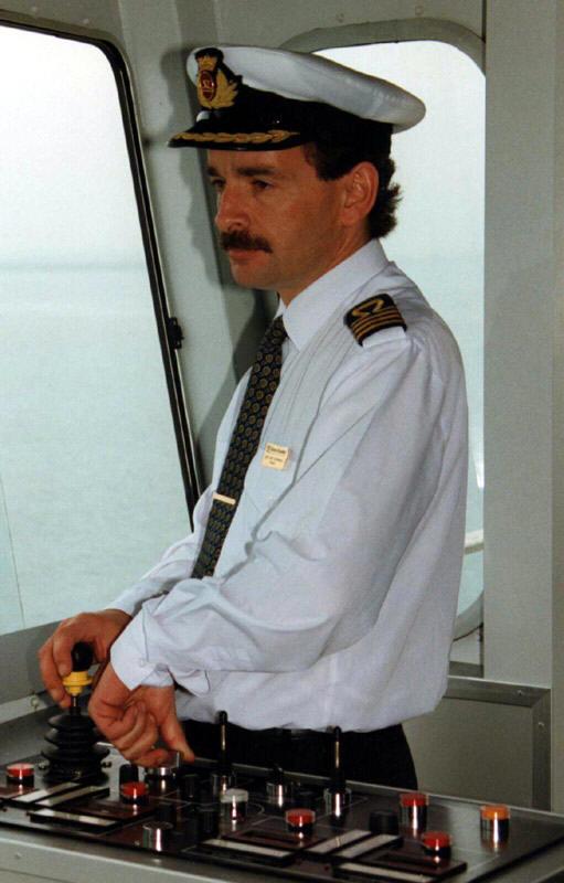 Captain Andy Humphreys