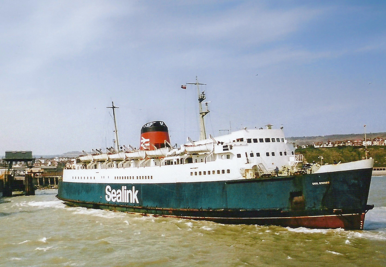 Earl Siward at Folkestone April 1981