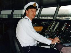 Captain Wyn Parry